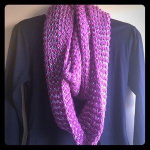 Magenta infinity scarf